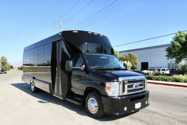 22 passenger party bus New Orleans