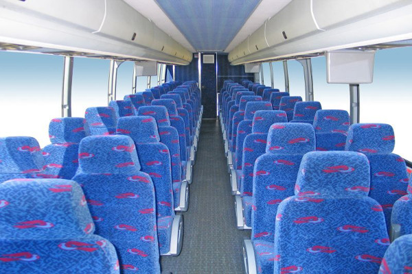 50 person charter bus rental New Orleans