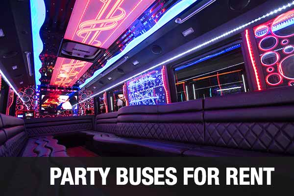Charter Bus Party Bus New Orleans